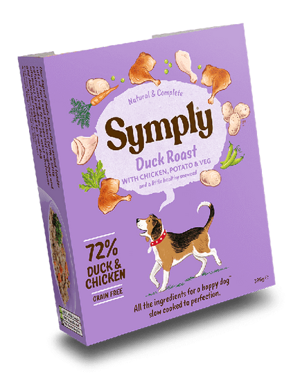 Symply Duck Roast Wet Food 395g