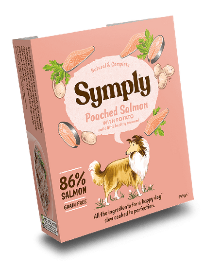 Symply Poached Salmon Wet Food 395g