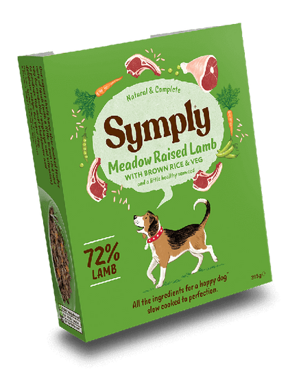 Symply Lamb Wet Food 395g