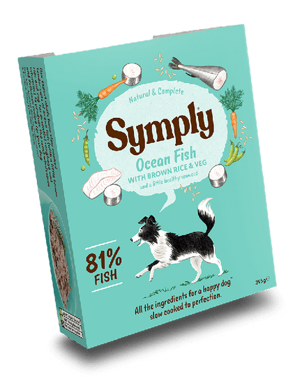 Symply Ocean Fish Wet Food 395g