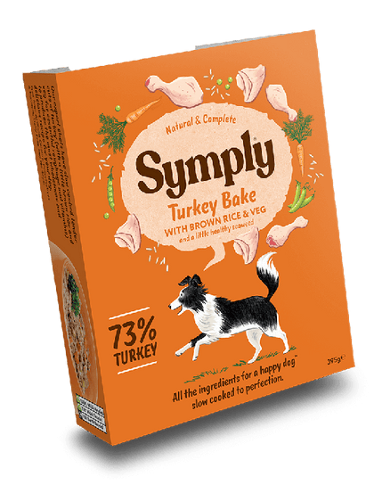 Symply Turkey Bake Wet Food 395g