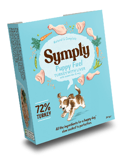 Symply Puppy Fuel Wet Food 395g