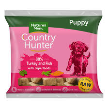 Country Hunter Raw Superfood Nuggets Puppy