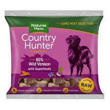 Country Hunter Raw Superfood Nuggets Wild Venison