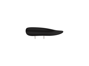 beautifully sleek, black, wooden VIENNA chin rest, is created with a universal design that works for most violin and viola players.