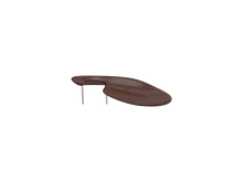 Load image into Gallery viewer, beautifully sleek, brown, wooden VENEZIA is lower in height and is therefore often chosen by players with shorter necks.