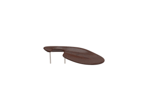 beautifully sleek, brown, wooden VENEZIA is lower in height and is therefore often chosen by players with shorter necks.