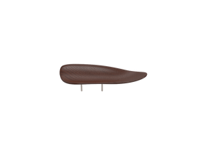 beautifully sleek, brown, wooden VIENNA chin rest, is created with a universal design that works for most violin and viola players.