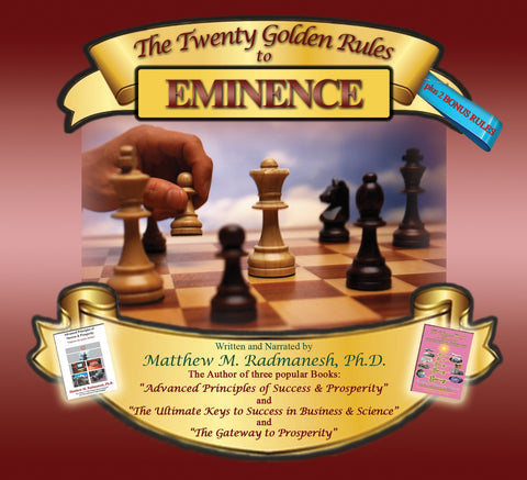 The Twenty Golden Rules to Eminence + 2 Bonus Rules