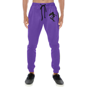 LaGuai Signature Purple Sweatpants