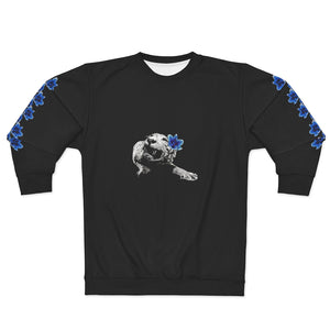 Spirit Blue Tiger Black Unisex Sweatshirt