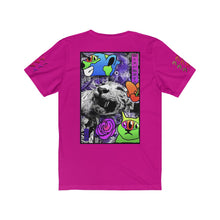 Load image into Gallery viewer, Royalty Rose Unisex Jersey Short Sleeve Tee Colour Streetwear Trendsetter
