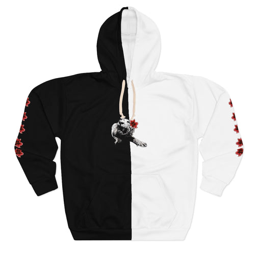 Spirit Dual Blossoms Unisex Pullover Hoodie