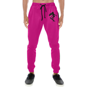 LaGuai Signature Magenta Sweatpants