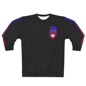 Tokyo H/C Unisex Sweatshirt Red Blue Purple Black Hidden Smile