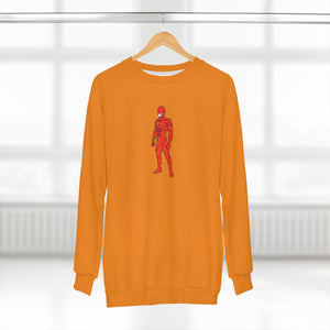 LaGuai Human Orange Camo Unisex Sweatshirt