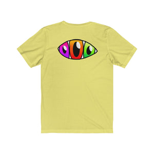 Third Eye Multiple Eyes Unisex Jersey Short Sleeve Tee