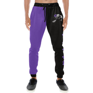 Spirit Two-Tone Purple/Black Sweatpants