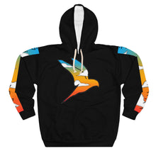 Load image into Gallery viewer, Wise Eagle Sun Set Unisex Pullover Hoodie