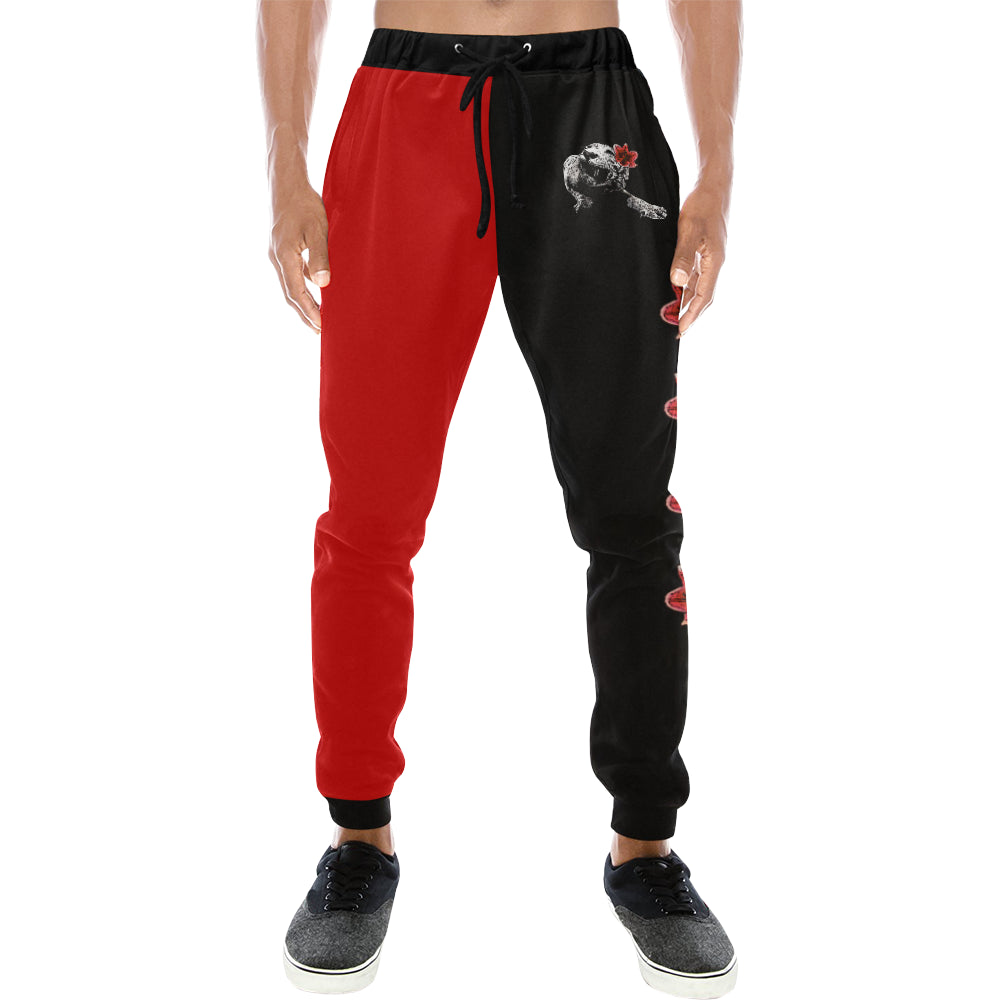 Spirit Duality Two-Tone Red/Black Sweatpants