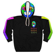 Load image into Gallery viewer, Tokyo Earth Black Unisex Pullover Hoodie
