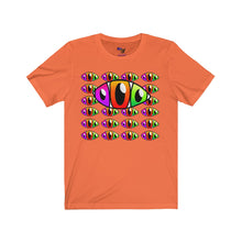 Load image into Gallery viewer, Third Eye Multiple Eyes Unisex Jersey Short Sleeve Tee