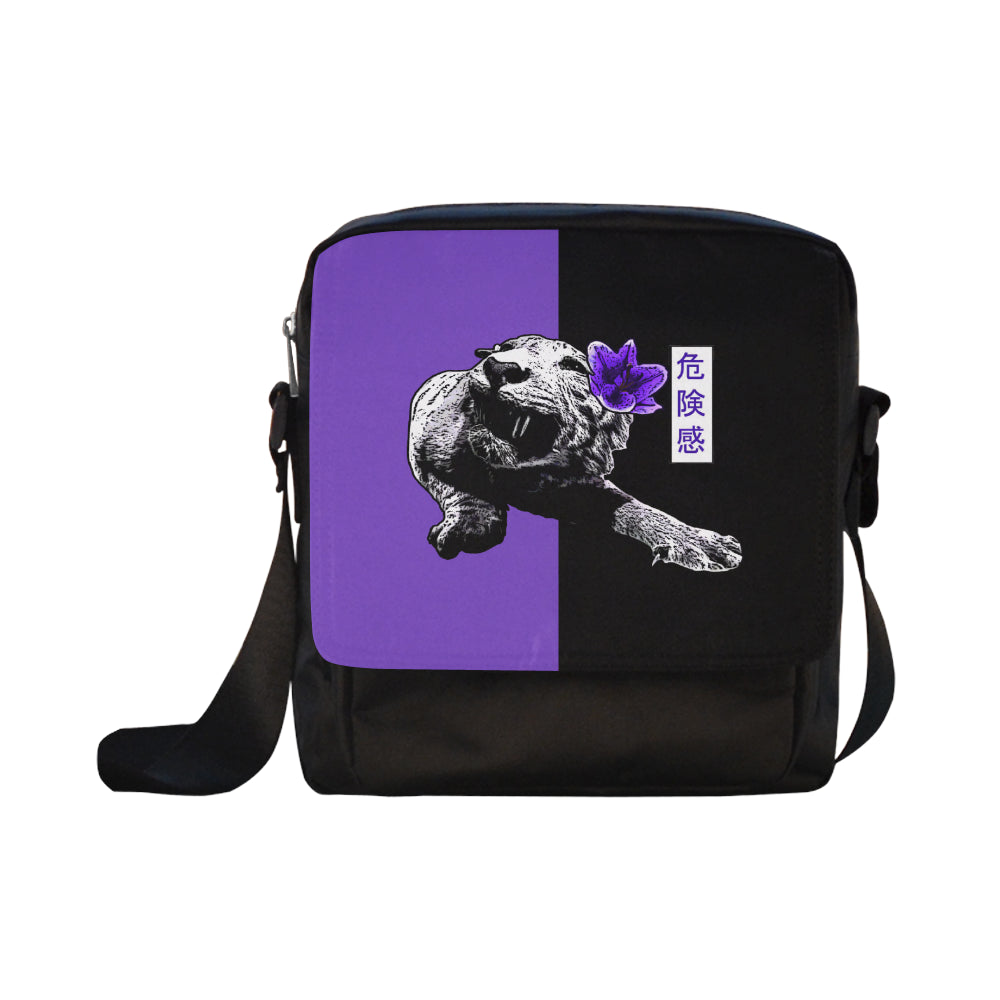 Spirit Two Tone Purple/Black Crossbody bag