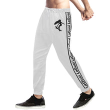 Load image into Gallery viewer, LaGuai Signature White Sweatpants