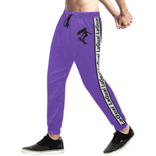 Load image into Gallery viewer, LaGuai Signature Purple Sweatpants