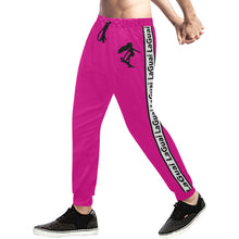 Load image into Gallery viewer, LaGuai Signature Magenta Sweatpants