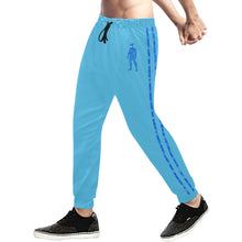 Load image into Gallery viewer, LaGuai Human Blue Camo Sweatpants
