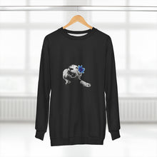 Load image into Gallery viewer, Spirit Blue Tiger Black Unisex Sweatshirt