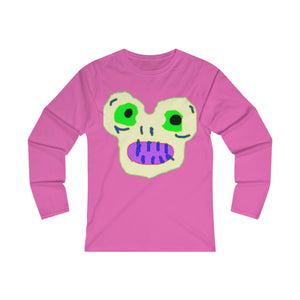 Magic Monster Women's Fitted Long Sleeve Tee