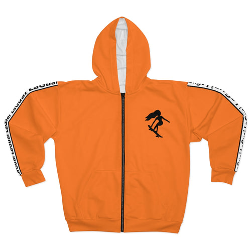 LaGuai Signature Orange Unisex Zip Hoodie