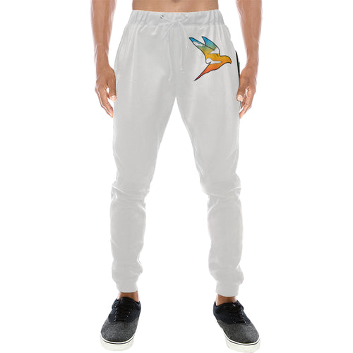 Wise Eagle Sunset Men's sweatpants