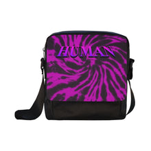 Load image into Gallery viewer, Human Purple Tie dye Cross-body Bag