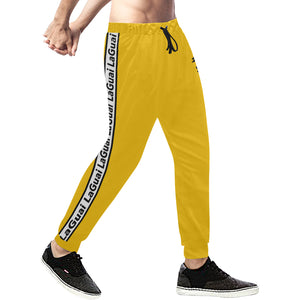 LaGuai Signature Yellow Sweatpants
