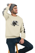 Load image into Gallery viewer, Spirit B&W Tiger Beige Unisex Sweatshirt