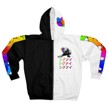 Load image into Gallery viewer, Royalty Unisex Zip Hoodie Colour Streetwear Trendsetter