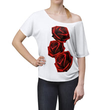 Load image into Gallery viewer, Love LaGuai Roses Women's Slouchy top
