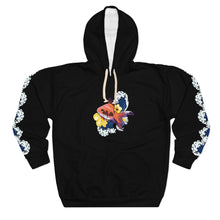 Load image into Gallery viewer, Aquarium Black Unisex Pullover Hoodie