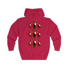 Load image into Gallery viewer, Red Tokyo x ThirdEye Unisex Full Zip Hoodie