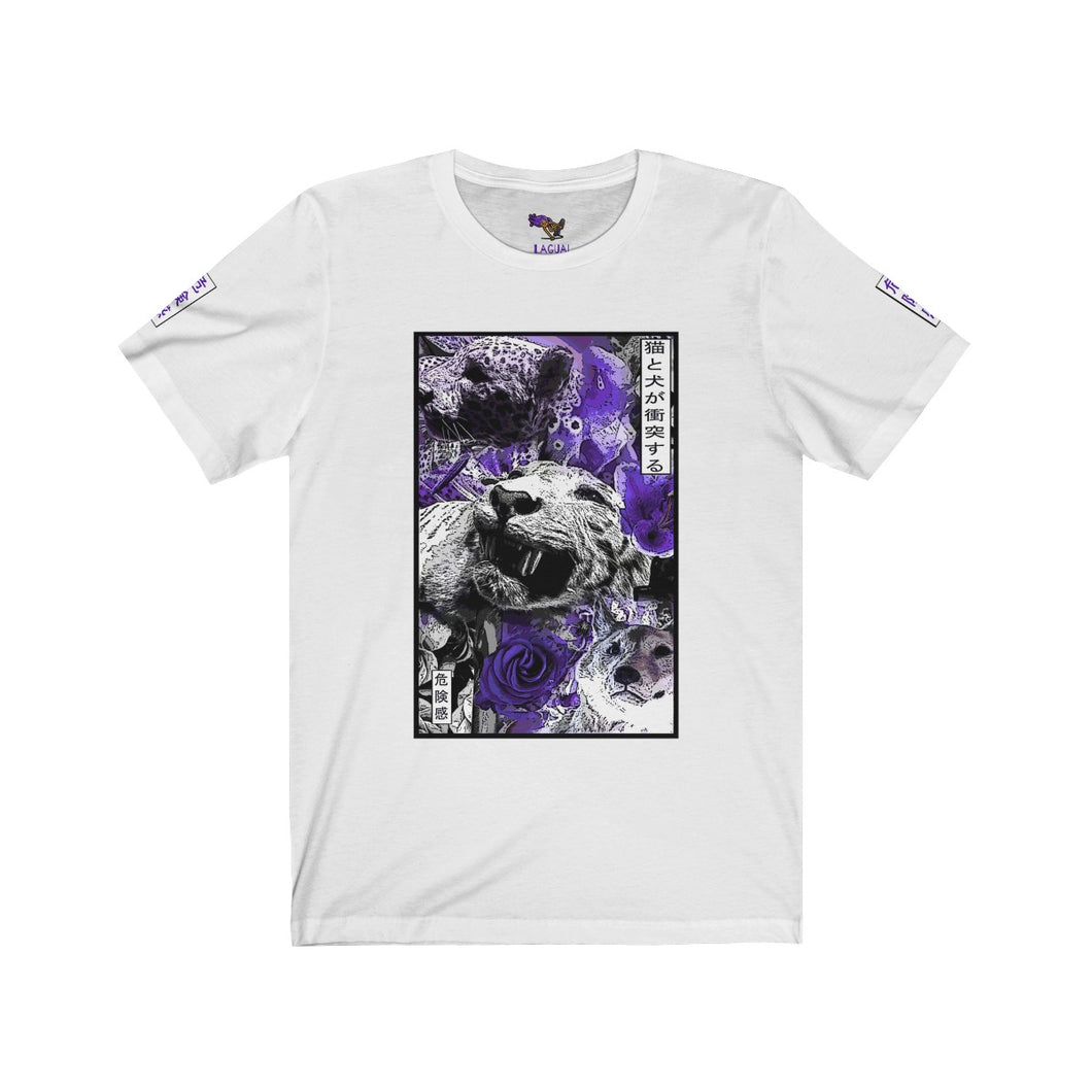 Spirit Purple Unisex Jersey Short Sleeve Tee