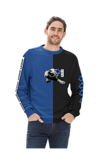 Load image into Gallery viewer, Spirit Duality Blue Unisex Sweatshirt