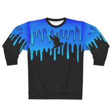 Load image into Gallery viewer, Wise Eagle Water Unisex Sweatshirt Blue Black