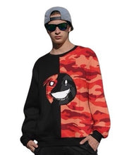 Load image into Gallery viewer, Emoji BRed Camo Two-Tone Unisex Sweatshirt