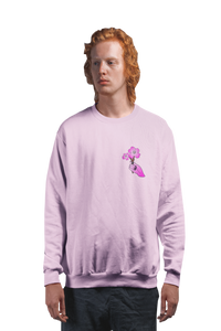 LaGuai Human Sakura Cotton Long Sleeve Tee