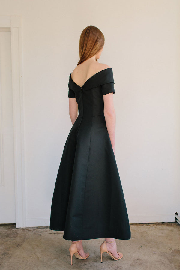 T-Length V-Back Alice Van Der Rohe Dress
