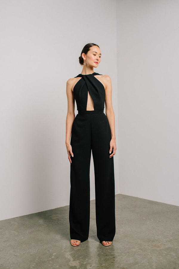 Wrap Neck Zeina Jumpsuit