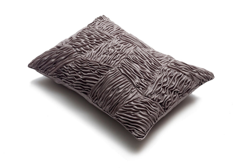 Patchwork Winds Cushion in Silk